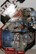 Hasbro STAR  WAR  AIRBORNE  TROOPER with SILVER Collector Coin ACTION  FIGURE