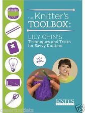 NEW! The Knitter's Toolbox Lily Chin Techniques Tricks for Savvy Knitters [DVD]