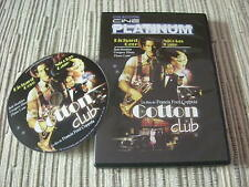 DVD PELICULA COTTON CLUB RICHARD GERÉ FRANCIS FORD COPPOLA USADO BUEN ESTADO