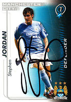 Manchester City FC Stephen Jordan Hand 05/06 Premiership Shoot Out Signed Card.