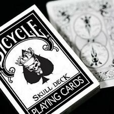 Bicycle The Skull Playing Cards Deck Magic Brand New