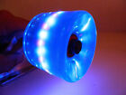 70mm x 51mm Longboard Cruiser LED Light Up Clear Color Wheels