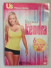 BE A KNOCKOUT WITH KENDRA ~ WORKOUT DVD ~ FLAT ABS + LEAN LEGS + BEST BUTT EVER!