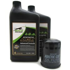 Arctic Cat ATV 550-1000 H1 H2 ACX 0W-40 Synthetic Oil Change Kit Filter 1436-438
