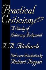 Practical Criticism : A Study of Literary Judgment by I. A. Richards (2004,...