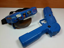 SEGA LOCK ON PISTOLA Y VISOR LASER VR-SHOOTER BANDAI