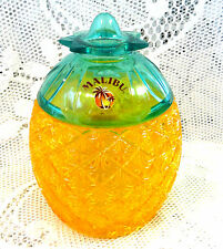 RETRO PLASTIC MALIBU PINEAPPLE ICE BUCKET COCKTAIL GLASS KITSCH