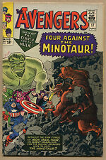 Avengers #17 - 2nd New Line Up - 1965 (Grade 7.5) WH