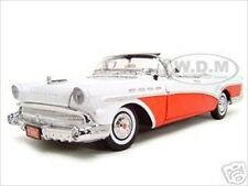 1957 BUICK ROADMASTER RED 1:18 DIECAST CAR MODEL BY MOTORMAX 73152