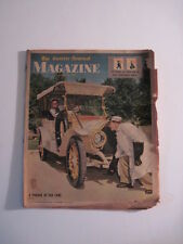 Louisville Courier Journal Magazine, 1956. Classic Cars! Fire Dept Salvage Team!