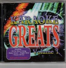 (EV166) Karaoke Greats Vol 1 - 1999 CD + Lyric Booklet