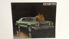 NOS 1978 Ford LTD II sales brochure
