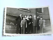 Foto AK 21K1024 Familienfoto Erfurt ca. 6x9cm