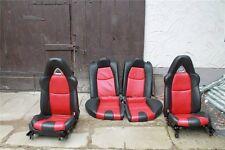 Mazda RX8 r Leder Ledersitze schwarz rot Sitze
