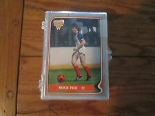 1987-88 MISL Pacific Soccer Card Set (110); Complete & Mint; Football