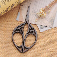Retro Vintage Classical Metal Stainless Steel Cross Embroidery Scissors