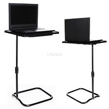 Height Adjustable Laptop Desk Swivel Bedside Table Stand Tray Over Bed LFSZ