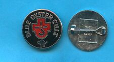 Blue Oyster Cult Spectres vintage 1970s enamel badge - BACKSTAMPED version