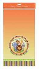 Jungle Safari Animal Plástico Mantel Paño Fiesta De Cumpleaños Vajilla de tema