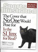 SI Jinx for Real Sports Illustrated Jan.21, 2002