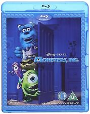 MONSTERS INC Blu Ray Walt Disney Original Cartoon Pete Docter, Lee NEW UK BLURAY