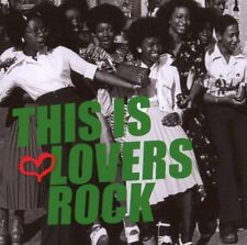 THIS IS LOVERS ROCK REGGAE MUSIC COMPILATION CD NEW