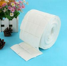 500PCS 1 Roll Nail Art Manicure Lint Polish Remover Wipes Tips Pads Paper White