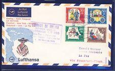 50409) Berlin, Zul. zu LH FF Frankfurt - La Paz Bolivien 31.3.68, Satz Märchen