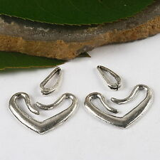 12sets Tibetan Silver style Toggle Clasps h0966