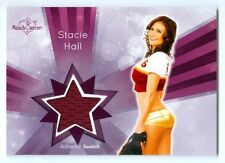 "STACIE HALL ""SP SWATCH CARD"" BENCHWARMER SIGNATURE SERIES 2015"