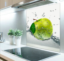 60cm x 70cm Digital Print Glass Splashback Heat Resistant  Toughened 402