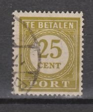 P60 Port nr.60 used gestempeld Nederlands Indie Indonesia due portzegel