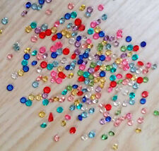 (1000)Lot 3mm Crystal Birthstones Floating Charm for Glass Living Memory Lockets
