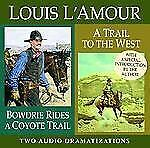 Bowdrie Rides a Coyote Trail/ A Trail To the West (Louis L'Amour) by
