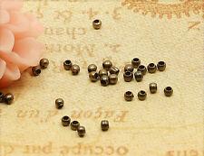 100x Quetschperlen Crimps 1,5mm bronze sz286