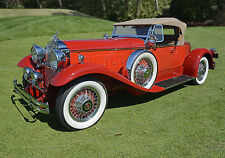 1930 Packard 734 Speedster Runabout Classic Vintage Antique Car Photo (CA-0940)