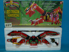 POWER RANGERS RED DRAGON THUNDERZORD BOXED ALL PARTS 527