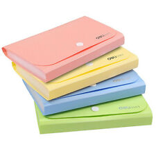 Mini File Folder Documents Office Receipts Bills Holder Case Bag Organizer Hot!