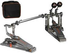 Pearl Demon Drive Double Bass Drum Pedal w/ Case - P3002D