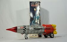Vintage Battery Op Space Rocket Solar X with Box TN Nomura