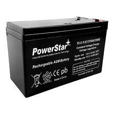 12V 9AH Sealed Lead Acid Battery for Emergency Lighting Equipment and ATV's