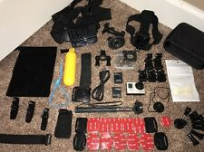 GoPro 3+ Silver Edition Camcorder CHDHN-302 Hero + Lots of Accessories(3PS22)