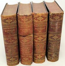 The Waverley Novels, Sir Walter Scott, Vol. I - IV,- 1877 A&C Black Edinburgh