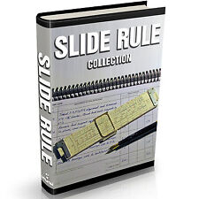The Slide Rule Collection - 41 Old Vintage Books on DVD Circular Calculator Math