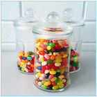 12 X Glass Apothecary Candy Lolly Buffet Jar Candle Waxing, Wedding &Party 660ML