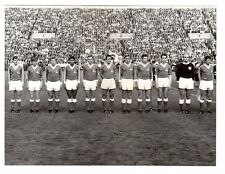 Original Press Photo Austria team line up (v West Germany 10.5.1969 WC Qualifier