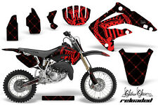 Honda CR 85 Graphic Kit AMR Racing # Plates Decal CR85 Sticker Part 03-07 RLOAD