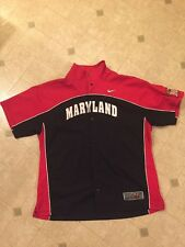 Maryland Terps Nike Elite Basketball Shooting Shirt Size XL