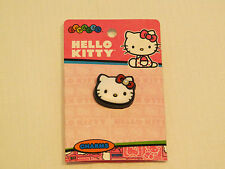 jibbitz Hello Kitty shoe charm crocs HKT Hello Kitty Prl face shoe accessory*^