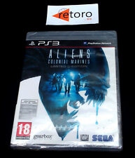 ALIENS COLONIAL MARINES Sony Playstation 3 PS3 Play station PAL-España NUEVO New